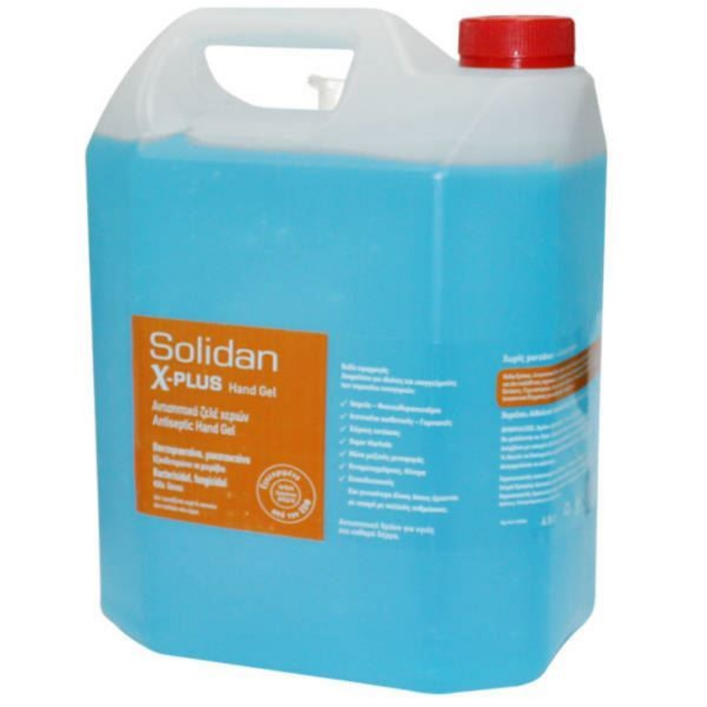 Picture of GEL FOR HANDS SOLIDAN X-PLUS 4 LT