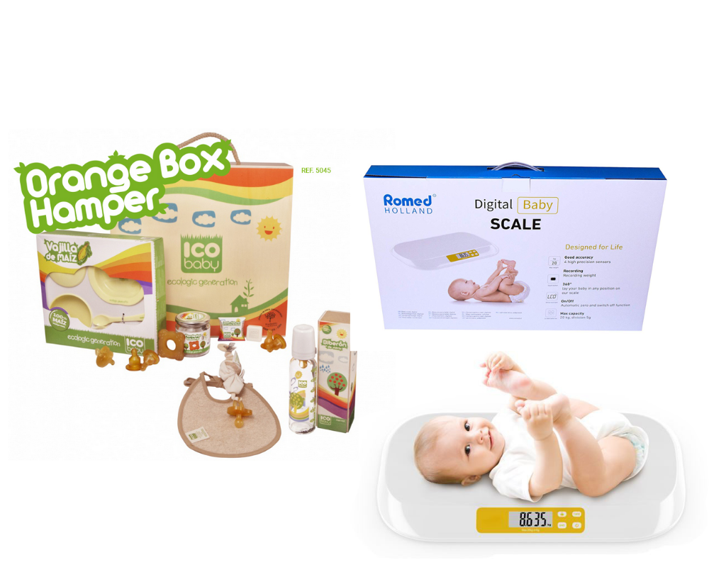 Picture of ICOBABY ORANGE BOX & BABYSCALE ROMED BS003